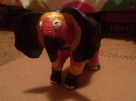 Perry the Rainbow Elephant by BlueAmerican164