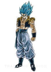 Gogeta SSGSS - DBS [COLOR-1] by Thanachote-Nick