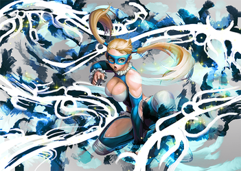 R.Mika - Street Fighter by EntemberDesigns