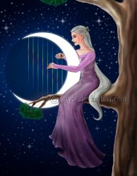 The Harpist by Jayrie