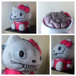 Goodbye Kitty (custom hello Kitty cup) by 600poundgorilla