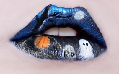 Halloween Lips by KatieAlves