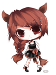 Another new OC I dunno the name o////o by lumiorah