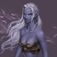 Dark Elf Sketch by Jordy-Knoop