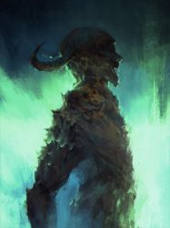 Demon Sketch 06 by ChrisCold