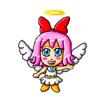 Halloween Collab-Angel Ribbon by ninpeachlover