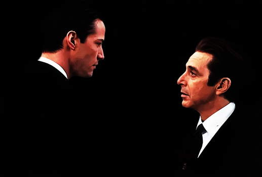 Reeves-Al  Pacino by donvito62