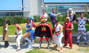 Street Fighter Group Shot at AX2018 by R-Legend