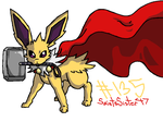 #135 Jolteon by SaintsSister47