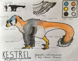 {Reference} Kestrel the Utahraptor by Iowasi