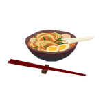 Noodle soup by RoboFoxChan