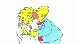 Simpsons Drawing #12 - Lisa's Wedding by SIMPSONSDRAWER