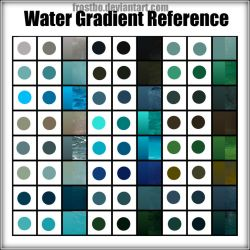 Water Gradient Reference by FrostBo