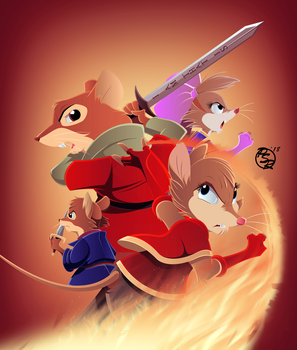Warriors of Thorn Valley x Redwall Cover 3 by BrisbyBraveheart