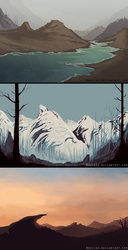 Landscapes by Naviira