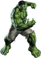 Incredible Hulk  PNG by CaptainJackHarkness