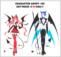 PRICE CHANGE(SET PRICE|OPEN)CHARACTER_ADOPT_03 by krianart
