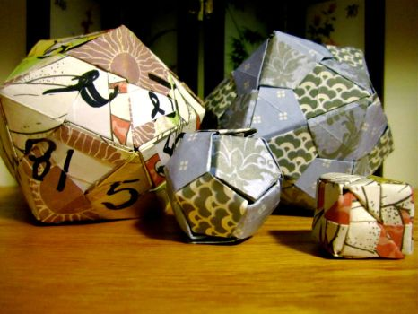 Origami DND by Exies
