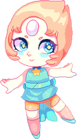 [SU] Pearl Pixel Pagedoll + Icon by Fivey