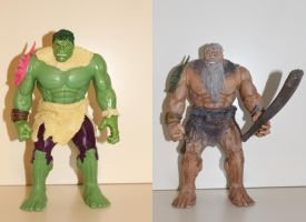 Hulk to titan conversion by MrVergee