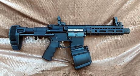 My Second AR Pistol Build by HectorDefendi-Light