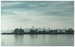 Across the Bay by SimonVelazquezArt