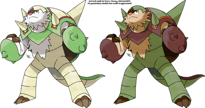 Chesnaught v.2 by Xous54