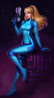 Commission: Samus Aran by Irina-Isupova