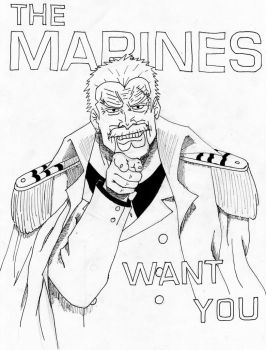 Garp The Marines want you by Swift42