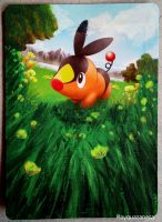 Tepig Card by Rayquazanera