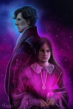 Merope Gaunt and Tom Riddle Sr by thire-sia