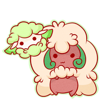Dex challenge: 546-547 Cottonee and Whimsicott