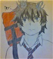 Rin Okumura from Blue Exorcist by PerseidGalaxy