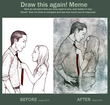 Draw This Again Meme: Feeler by renisanz