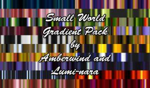 Small World Gradient Pack by amberwind
