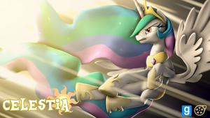 [DL] New Overhual Princess Celestia by BeardedDoomGuy