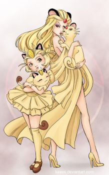 Meowth 4 Ever by keevs