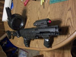 Nerf Bolter Commission by Frost-Claw-Studios