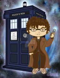 The 10th Doctor by PhantomStarStudio