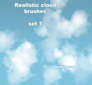 PS Realistic Cloud Brush by chi-u