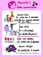 Gem Commisions(Closed) by Manniie