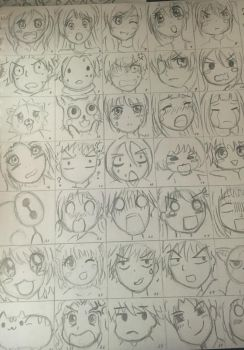 100 Characters Part 1! by YuukiCross5