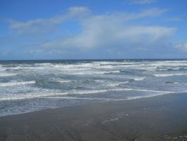 Ocean and Blue Sky by ArtistStock