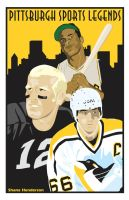 Pittsburgh Sports Legends by shane613
