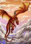 Temeraire: The Ballad of Mulan by anqila