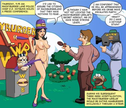 Wacky Burger with Extra Nudity by legmuscle