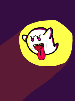 Boo by TheMagnificentBoxMan