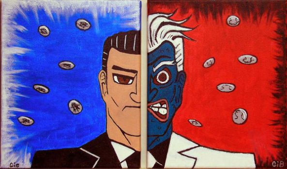 Harvey Two Face by gib8