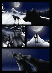 Wolf Brothers by Bluetabbycat