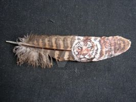 Tiger Feather 01 by JenTheThirdGal